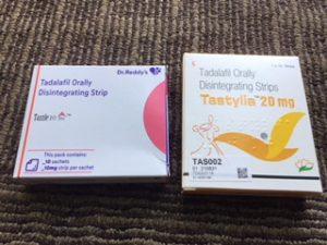 タスティリアと同じ形状のED薬