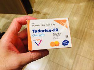 シアリスジェネリックでタダライズオーラルジェリーが即効性が高く丸二日間、食後でも勃起を維持する