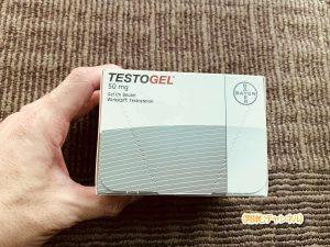 テストステロンを肌から吸収させるテストジェル