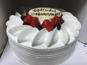 バイアグラジェネリックを個人輸入や通販する方法でケーキを頂いた