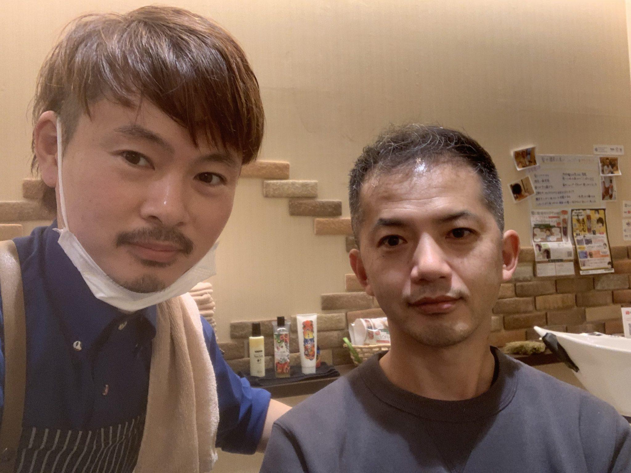 男のボンド藤塚店の男性のお客様