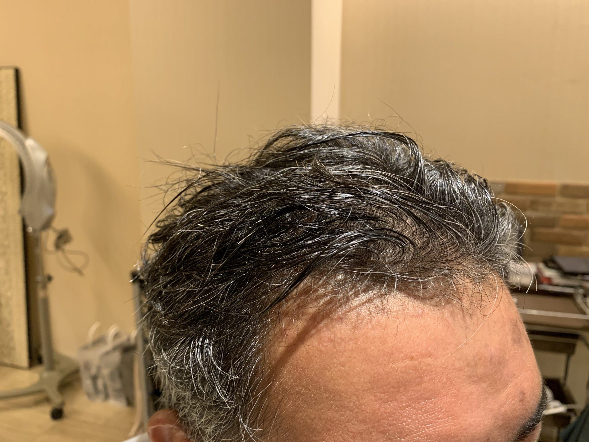 ゴワゴワなくせ毛