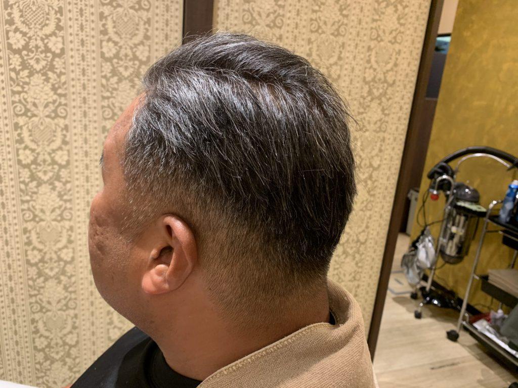 高松市のメンズの縮毛矯正アフター